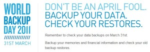 Dia Mundial do Backup
