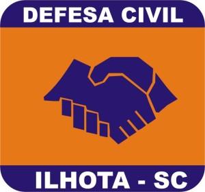 Logo da Defesa Civil de Ilhota