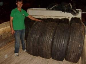 Prefeitura economizará R$100 mil com doação de pneus