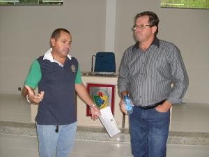 Vereador Chico Caroço e Roberto Prebianca