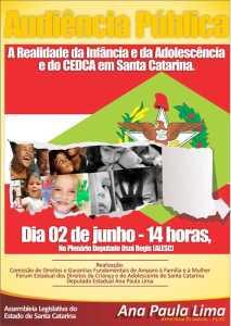 Convite Audiência Pública Infância e Adolescência