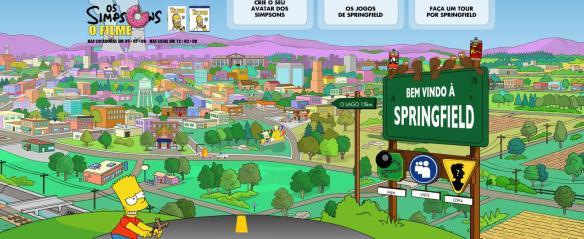 Crie o seu personagem no mundo dos Simpsons!
