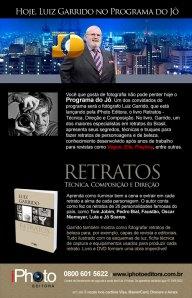 Programa do Jô - Jô Soares entrevista hoje o fotógrafo Luiz Garrido