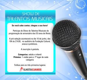 SHOW DE TALENTOS MUSICAIS