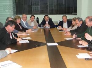 Reunião Prefeitos na Amfri 14/07/2011