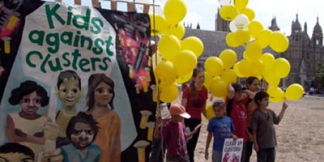 24 horas para salvar nossas crianças das bombas de fragmentação