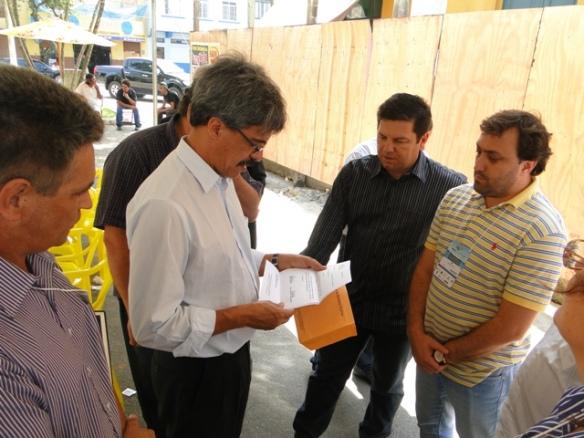 Demanda da região foi apresentada pelo Colegiado de Agricultura e Pesca da AMFRI durante passagem do ministro por Itajaí.