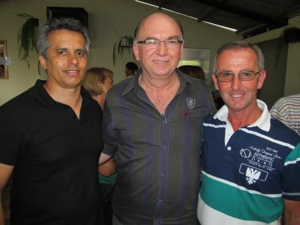 Dr. Lucas, vereador Lavino e o vice-prefeito Tonho são os pré candidatos do PMDB a prefeito