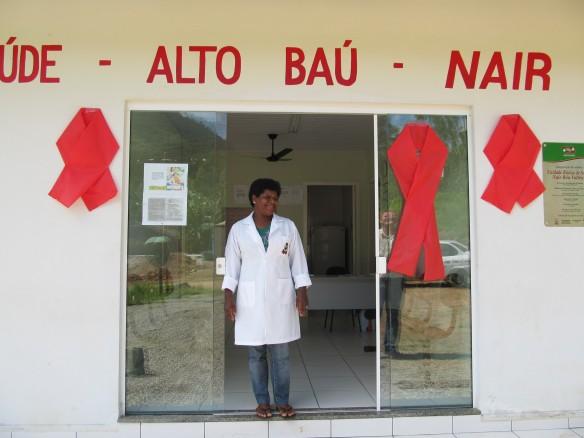 Unidade básica de saúde do Alto Baú