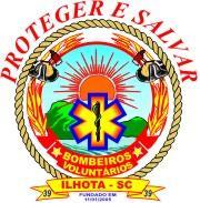 Logo dos Bombeiros Voluntários de Ilhota