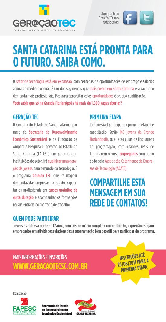 0179f3810 Geração Tec - Banner Divulgação