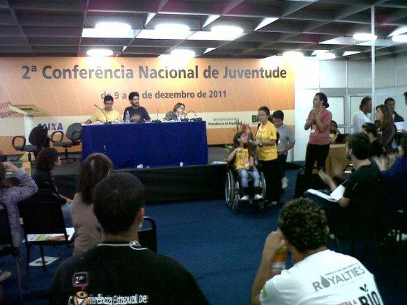 Plenárias da 2ª Conferência Nacional de Juventude