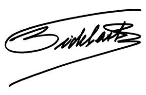 Assinatura de Fidel Castro