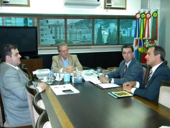 Chiodini se reúne com Secretário de Segurança Pública