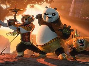 """Cena de """"Kung Fu Panda"""" (Foto: Divulgação)"""