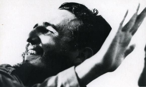 Fidel Castro em janeiro de 1959 (Foto do Arquivo de Assuntos Históricos do Conselho de Estado)