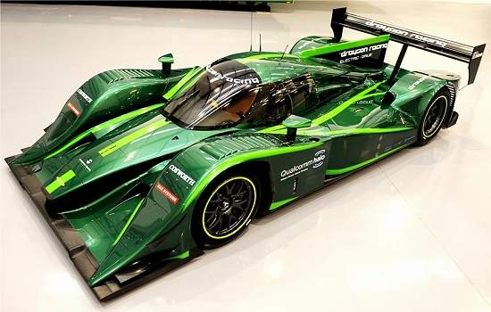O carro de corrida elétrico Lola-Drayson B12/69EV reune um conjunto de tecnologias que tornam o protótipo realmente competitivo. [Imagem: Lola]