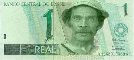 Dinheiro falso de R$1
