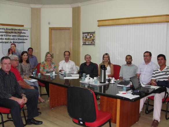 Membros da CISP com os convidados Elizângela Bosco e Luciano Batista2