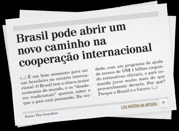 Tendências na cooperação Internacional Brasileira