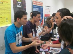 Jovens participam de atividade da React & Chance (Foto: Blog Antônio Zacarias)