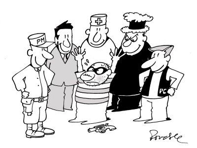 a visão ideal da segurança pública