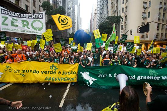 Aumente o coro pelo Desmatamento Zero