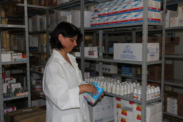 Farmácia básica da Secretaria Municipal de Saúde de Ilhota