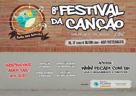 Festival da Canção vai distribuir R$18 mil em prêmios