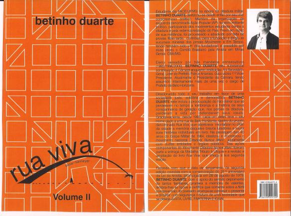 Livro Rua Viva digitalizado homenagem a todos que lutaram contra a ditadura militar