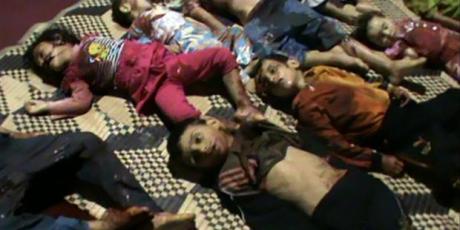 Não suporto ver mais outra criança assassinada na Síria