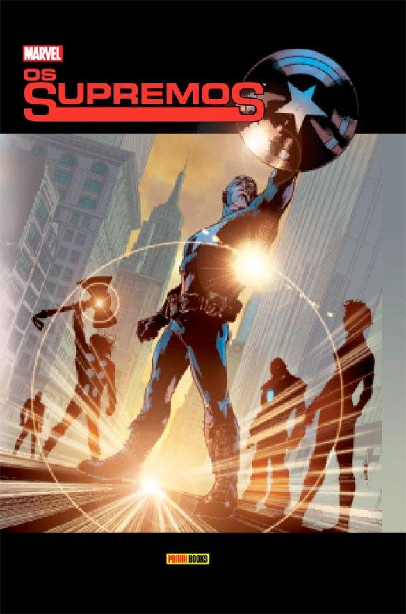 A Panini traz de volta às livrarias o primeiro encadernado de Os Supremos, série da versão ultimate dos Vingadores. O livro, em formato de luxo com capa dura, traz o primeiro arco da HQ escrita por Mark Millar e desenhada por Bryan Hitch.  Nesta releitura dos Vingadores, a equipe é controlada pela S.H.I.E.L.D. e tem Nick Fury na liderança. Nesta primeira história, o grupo tem de lidar com estranhos seres que surgiram na Terra e ameaçam a ordem estabelecida.  Seu conceito serviu de inspiração para o filme dos Vingadores, que explora diversos elementos dos quadrinhos como a invasão alienígena e a aparência de Nick Fury, interpretado por Samuel L. Jackson.  Este encadernado já tinha sido lançado em 2007, mas se encontrava esgotado. Esta nova edição é idêntica à primeira. Os Supremos vol. 1 reúne as edições 1 a 13 da série The Ultimates: Volume 1, mais extras, em 378 páginas, com acabamento de luxo (papel couchê, capa dura). O preço sugerido é R$ 84,00.  Curta nossa fanpage no Facebook! Siga também a Revista O Grito! no Twitter