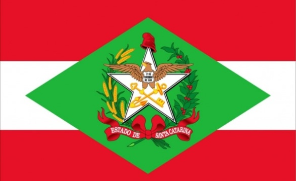 Bandeira do Estado de Santa Catarina