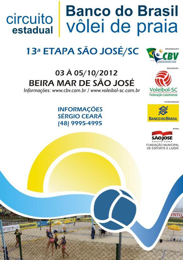 Circuito Estadual Regional do Banco do Brasil de Vôlei de Praia em São José