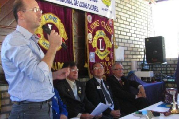 Fundação do Lions Clube Ilhota Encanto do Vale