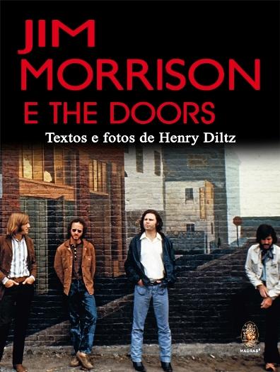 Livro de fotos de Jim Morrison e The Doors chega ao Brasil