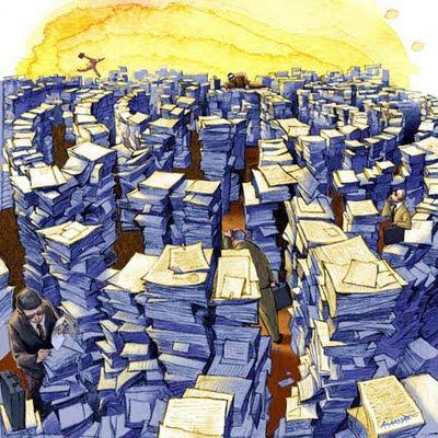 A burocracia e as violências invisíveis