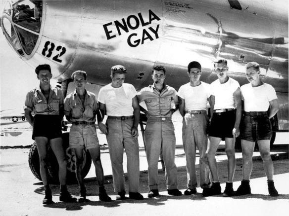 O bombardeamento de Hiroshima