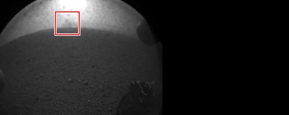 Sonda já enviou diversas imagens de Marte e uma delas deixou muita gente intrigada