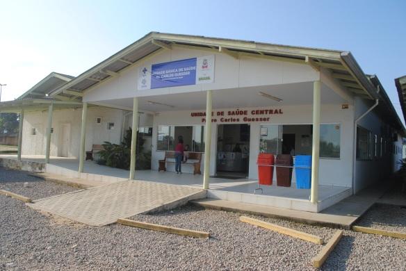 Unidades Báscias de Saúde Padre Carlos Guesser do Centro
