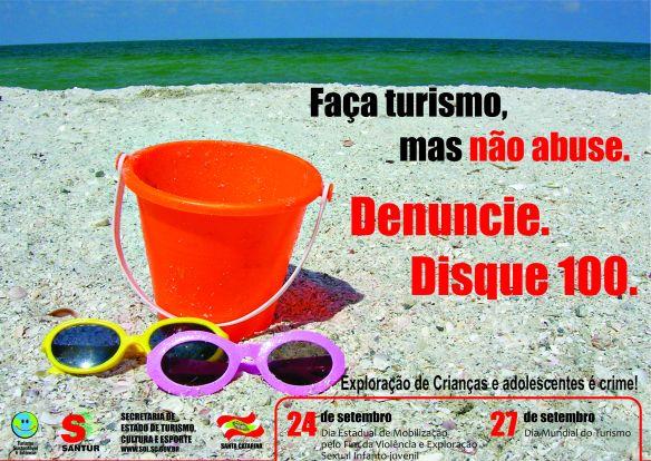 Faça turismo, mas não abuse!
