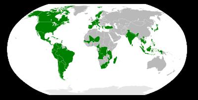 Membros da Via Campesina