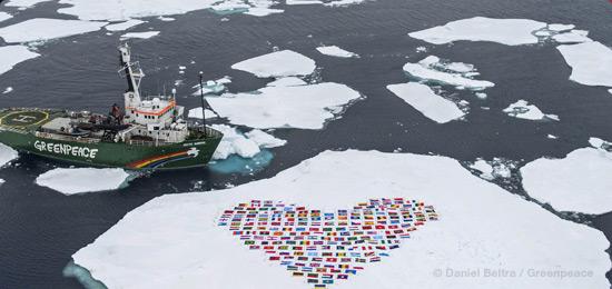 Situação urgente no Ártico