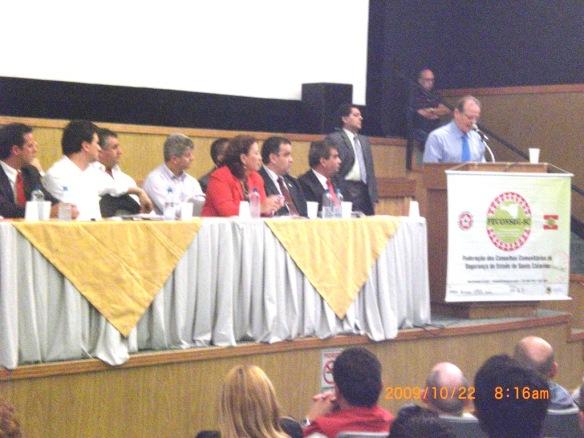 Consórcio de Segurança - CISVEMAR. Ministro Tarso Genro