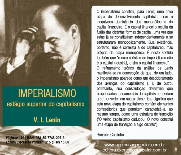 Imperialismo, estágio superior do capitalismo