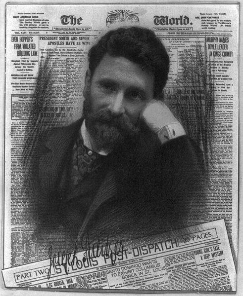Joseph Pulitzer, mais do que criar os prêmios que levam seu nome, ele também foi uma referência pioneira do jornalismo mundial