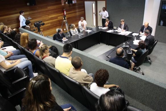 Reunião da Comissão de Defesa dos Direitos da Pessoa com Deficiência. Foto: Lucas Gabriel Diniz