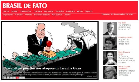 Site do Brasil de Fato
