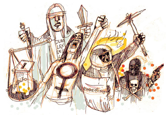 2012: acirram-se os conflitos, face a uma era perdida para os direitos sociais e trabalhistas