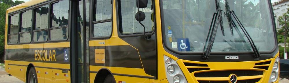 Ônibus do caminhos da escola